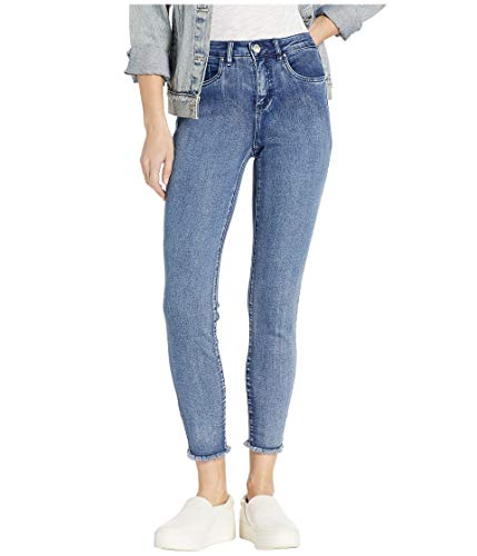 FDJ French Dressing Women's Olivia Ankle Jean with Frayed Hem