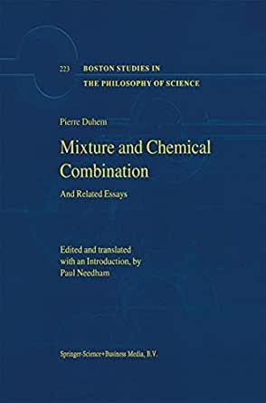 duhem essay history in philosophy pierre science Essays in the history and philosophy of science has 2 ratings and 0 reviews this volume assembles twelve texts published between 1892 and 1915.