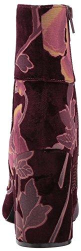 Madden Bootie Grand Velvet burgundy Ankle Burgundy Women's Steve velvet dgZWzqwd