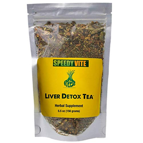 - Liver Detox Tea Organic 5.5oz SpeedyVite® Cleanses, Supports Liver, Gallbladder Health* with Dandelion Root, Dandelion Leaf, Fennel, PAU d' Arco bark, Sassafras, Ginger