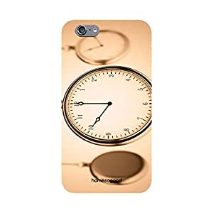 HomeSoGood Vintage Hanging Clock Transparent 3D Mobile Case For iPhone 6 (Back Cover)