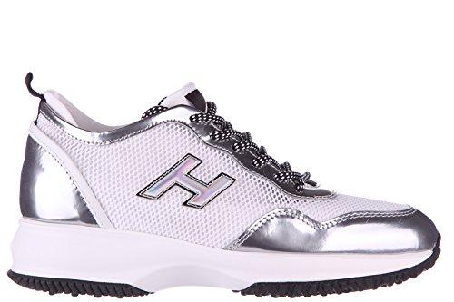 Hogan Damenschuhe Turnschuhe Damen Leder Schuhe Sneakers interactive lycra h flo
