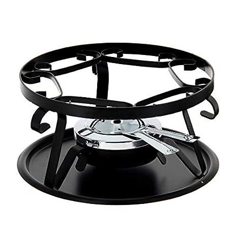 Table & Cook 3008167 – Hornillo de fondue negro