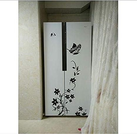 KDENDGGA Dibujo En Blanco Y Negro Dibujo Flores Mariposa Tapiz De Hadas Fantasía Estilo Colgante De Pared Decoración del Hogar para Dormitorio Y Sala De Estar 150 * 200 Cm: Amazon.es: Hogar