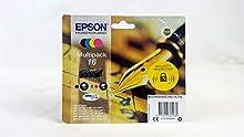 Epson C13T16264010 - Cartucho de tinta 16 Series Multipack, Ya disponible en Amazon Dash Replenishment