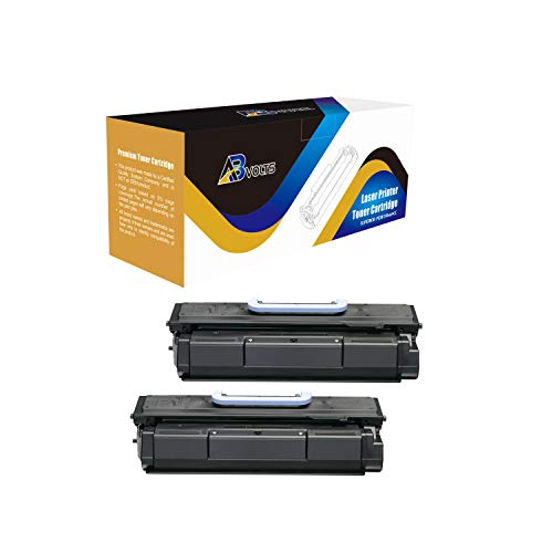 Imageclass Mf7460 Laser - AB Volts Compatible Toner Cartridge 105 for Canon 105 ImageClass D7280 Bubble Jet BJC 411F Laser ImageClass 7280 Multi Function ImageClass MF7460 MF7470 | Rated for 10000 Pages - 2 Pack Black