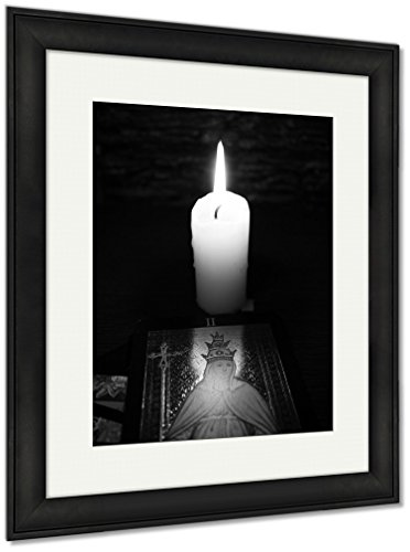 Ashley Framed Prints Divination By Tarot, Wall Art Home Decoration, Black/White, 40x34 (frame size), Black Frame, AG6514285 by Ashley Framed Prints