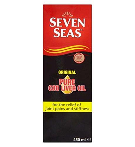 (Seven Seas Orig Cod Liver Oil Plus Omega-3 Fish Oil 450ml)