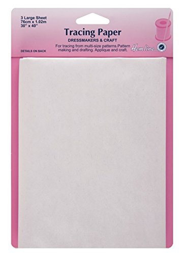 Hemline Tracing Paper Plain 76cm x 102cm