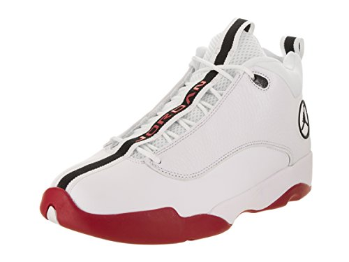 4d5c0d58bd4e87 Galleon - Jordan Jumpman Pro Quick White Black Gym Red Basketball Shoe (13  US)