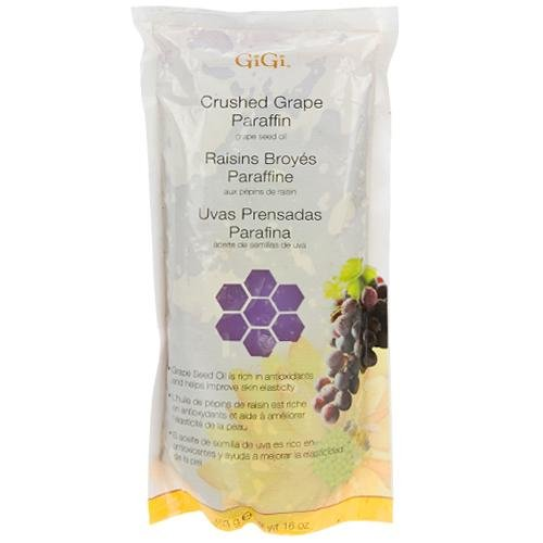 GiGi Crushed Grape Paraffin with Grape Seed Oil 453g/16oz 073930085300