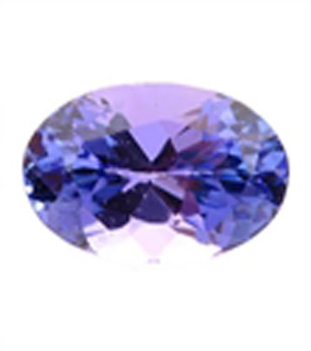 Flower Cut Tanzanite Oval Shape with Nice Color Rare Natural Loose Gems Stone for Mounting Ring