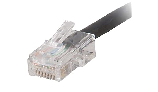 C2g Qs 100ft Cat6 Non Booted CMP Blk