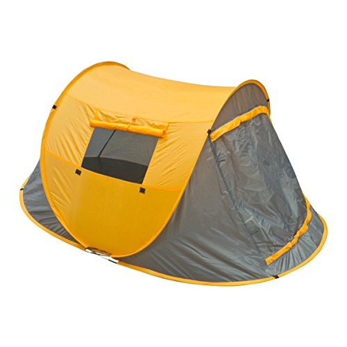 Milestone Pop-Up Tent with Carry Bag (2 Person), Orange