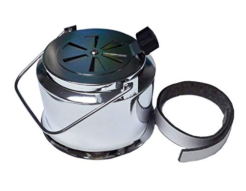 Broilmann Dual Function Metal Top, Stainless Steel Vented Chimney Cap Fit for Big Green Egg Grill