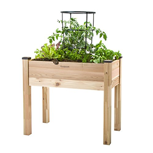 CedarCraft Elevated Garden Planter (18' X 34' X 30')