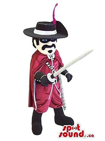 Amazon.com: Cool Character Mascot SpotSound nosotros vestida ...