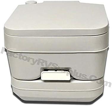 Hengs Portable 2.5 Gallon Gray Toilet