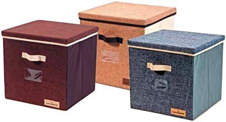 PARTENOPE Caja Box para la Colada (TNT con Asas cm 30 X 30 X 30 ...