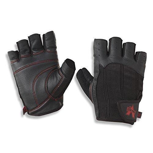 Valeo Padded Ocelot Lifting Gloves, Gym Gloves, Workout Gloves, Exercise Gloves for Powerlifting, Cross Training, Rowing for Men & Women
