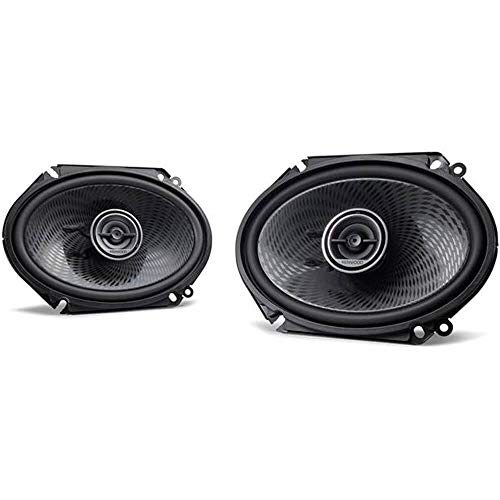 Custom Fit Coaxial 2 Way - Kenwood KFC-C6896PS 6X8 Custom Fit 2 Way Car Speakers (Pair) 360 Watts Peak Power KFCC6896PS