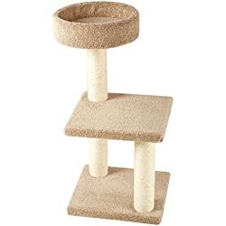 AmazonBasics Cat Tree with Scratching Posts - Medium