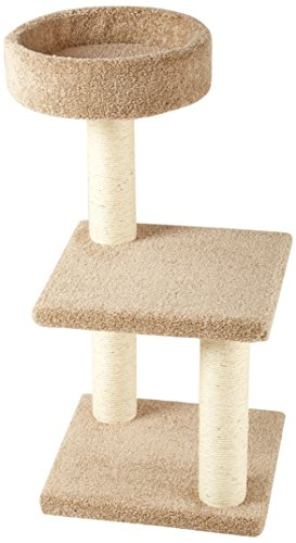 AmazonBasics Cat Activity Tree with Scratching Posts,...