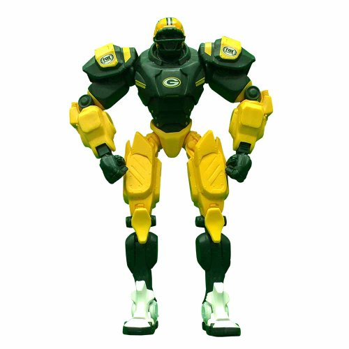 NFL Green Bay Packers 10-Inch Fox Sports Team Robot