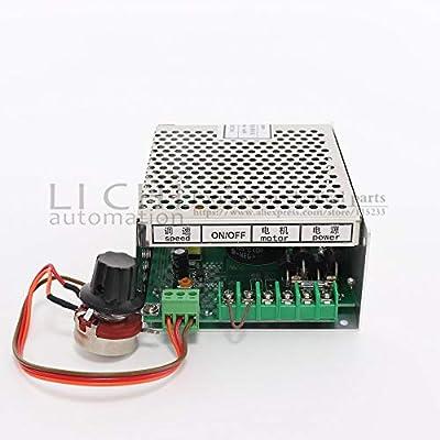 Xligo 300W CNC Air Spindle Power Supply 220V/110V 220V Mach Power Governor with Speed Control for 300W Machine Tool Spindle