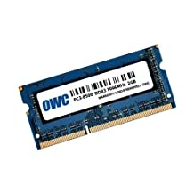 OWC 2GB PC3-8500 DDR3 1066MHz SODIMM 204 Pin Memory Upgrade Module for Late 2008, Early 2009, Early 2010 MacBook, MacBook Pro Unibody Models, Late 2009 MacBook, 2009/2010 Mac mini, and 2009 iMac models . model OWC8566DDR3S2GB