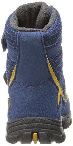 Keen TREZZO WP C Unisex-Kinder Warm gefütterte Schneestiefel Blau (ENSIGN BLUE/TAWNY OLIVE)