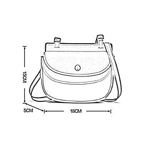 Sac à 15 Sac 18 Bag bandoulière Couleurs Mlle 5 à Black 5 ANLEI CM Rétro Main MRY05 Messenger dgFdzq