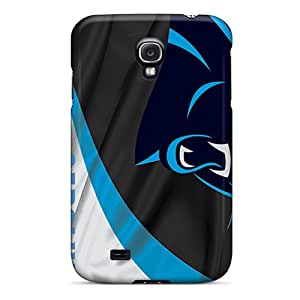 High Impact Dirt/shock Proof Case Cover For Galaxy S4 (carolina Panthers)