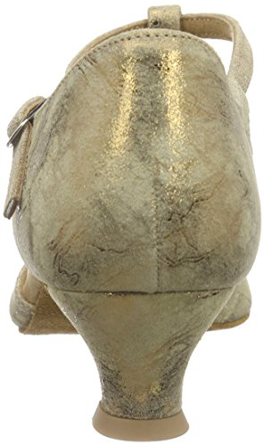 Diamant Diamant Damen Tanzschuhe 019-011-311 - Zapatillas de Baila Moderno y Jazz Mujer Marrón (Bronze Magic)
