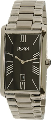 Hugo Boss Men's 1513439 Silver Stainless-Steel Analog Quartz Watch