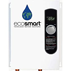 "This Smart Technology electric tankless water heater is configured as a ""whole home"" model for climates where incoming water temperature is 62°F and above. The ECO 18 is capable of heating over 2.5 gallons per minute, which is the equivalent of one w..."