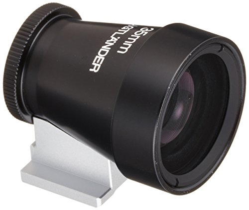 Voigtlander Metal Brightline Viewfinder for the 35mm Lens, Black.