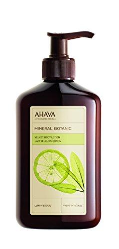 AHAVA Mineral Botanic Body Lotion Lemon/Sage, 13.5 Fl - Lotion Energizing Body