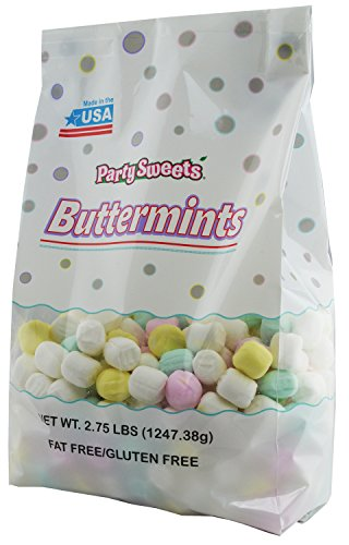 Party Sweets Assorted Pastel Buttermints, 2.75 Pound, Appx. 350 pieces from Hospitality -