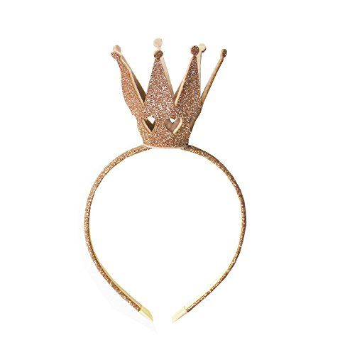 Kirei Sui Girls Shiny Crown Hairband Gold ()