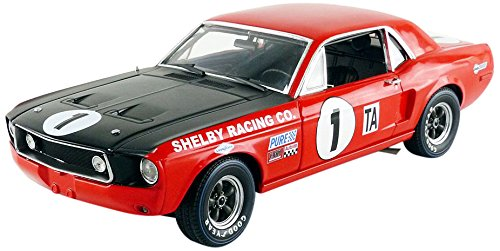 1968 Shelby Racing Trans Am Mustang #1 - Jerry Titus Daytona Champion 1:18 Scale Diecast Model by Acme ()