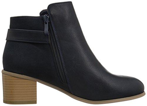 Brinley Co Womens Tisha Ankle Boot Navy 5LobA