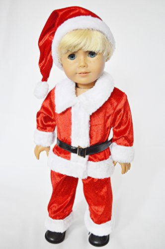Santa Suit for American Girl Doll