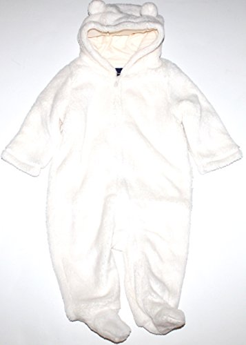 baby-gap-infant-boy-girl-ivory-fleece-hooded-footed-snowsuit-bunting-6-12-mo