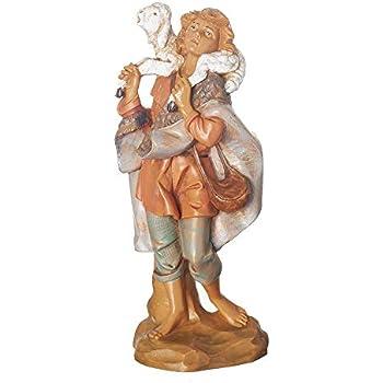 Fontanini Gabriel Shepherd With Sheep 172551