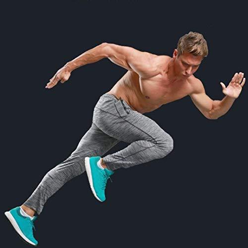 Hommes Sport Gymnastique Gris Grau Workout Survêtement Basique Intégré Automne Pour Printemps De Running Pantalons YwU5qEv