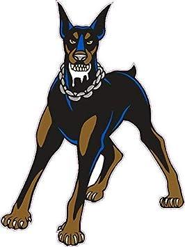 1 x Aufkleber Dobermann Dogge Hund Dog Sticker Shocker Tuning Autoaufkleber Fun