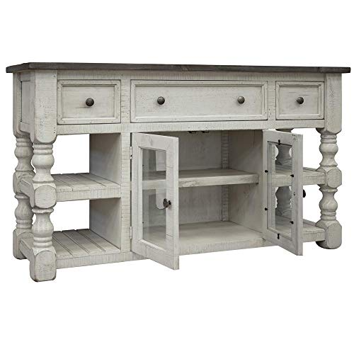 Crafters and Weavers Stonegate TV Stand - 60
