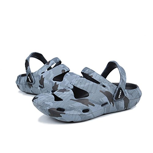 VEMOW Sandals Couple Shoes, Trainers Cute Flats Flip Flops Thongs Espadrilles Running Walking Dance, Unisex Breathable Casual Beach Slippers Comfort Anti-Slip Shower Sandals Camouflage