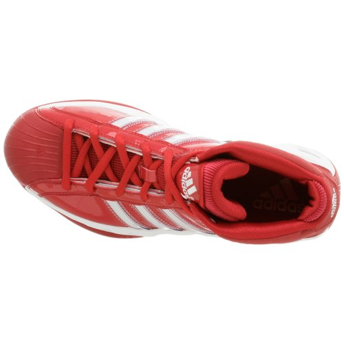 adidas Men's Pro Model Team Color Basketball Shoe,Red/Red,9.5 M by adidas (Image #7)